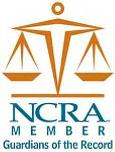 National Court Reporters Logo